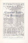 Occasional Papers: Current Issues in Business by Janice Rowan