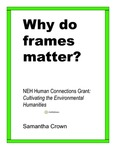 Why Do Frames Matter? by Samantha T. Crown