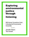 Exploring Environmental Justice through Listening: An Environmental Design Case Study in Camden, NJ by Jennifer L. Kitson and Ted Howell